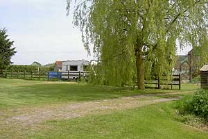 brook house inn touring and camping park somerset entrance